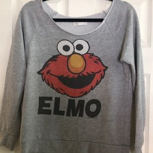 Forever 21 Elmo sweatshirt size small